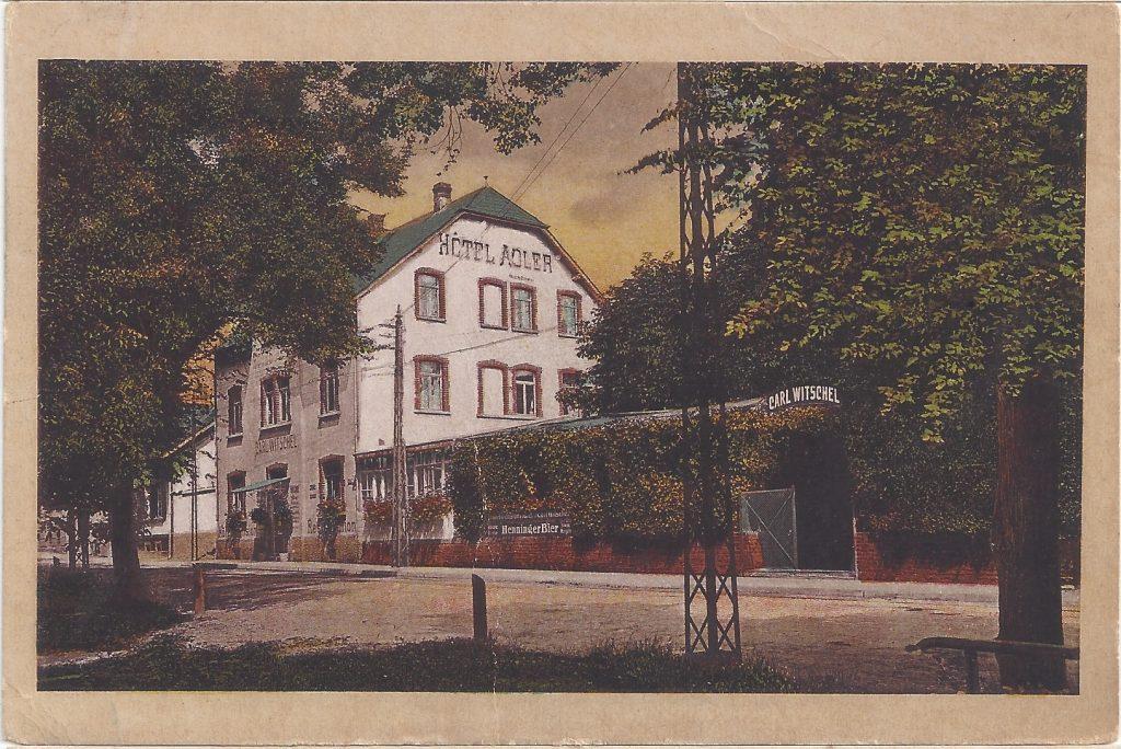 Ansichtskarte Hotel Adler in Dornholzhausen