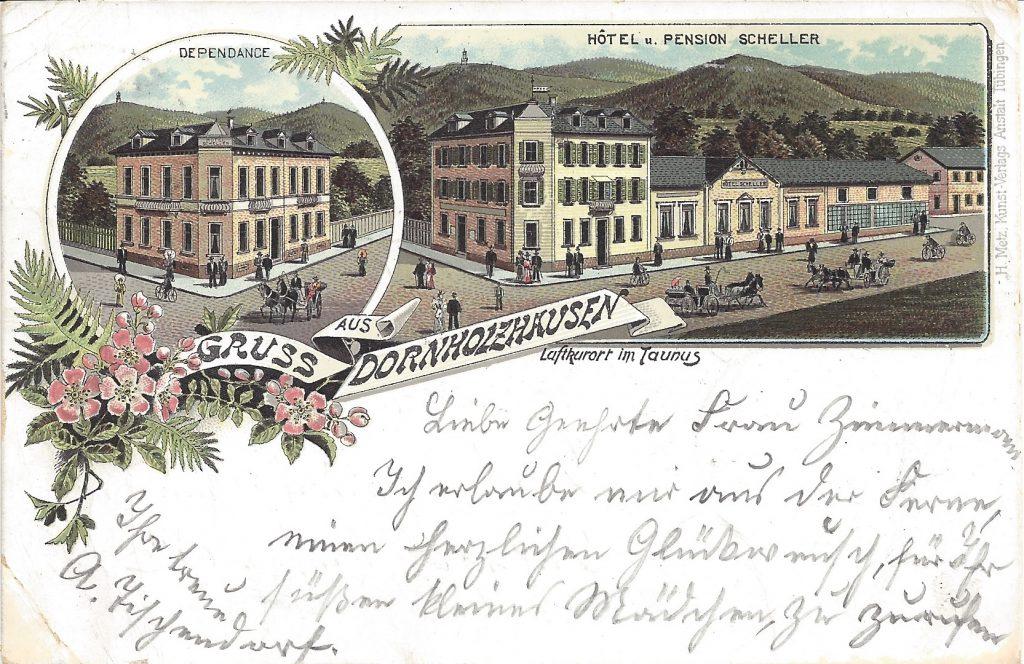 Ansichtskarte Lithografie Dornholzhausen