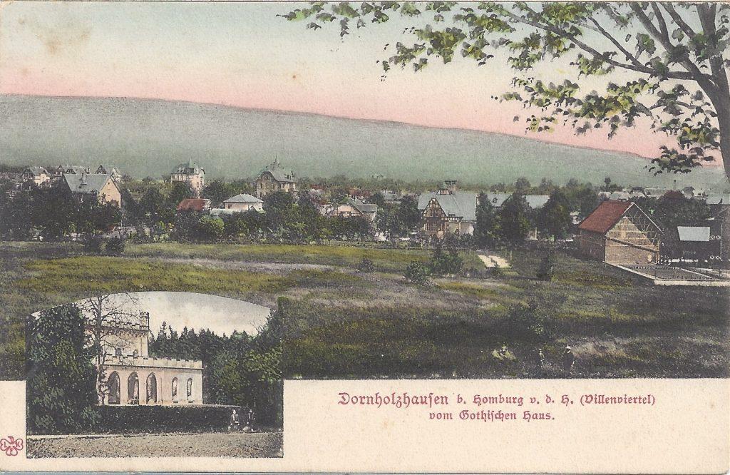 Ansichtskarte Dornholzhausen Villenviertel