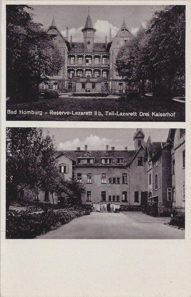 AK Dreikaiserhof Reserve-Lazarett