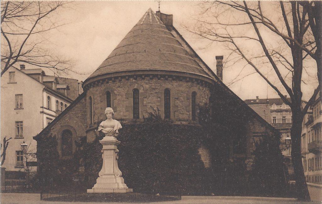 Ansichtskarte Die Englische Kirche, Denkmal