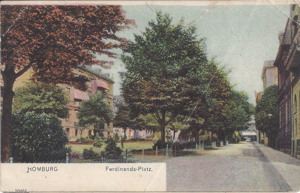 Ansichtskarte Ferdinands-Platz