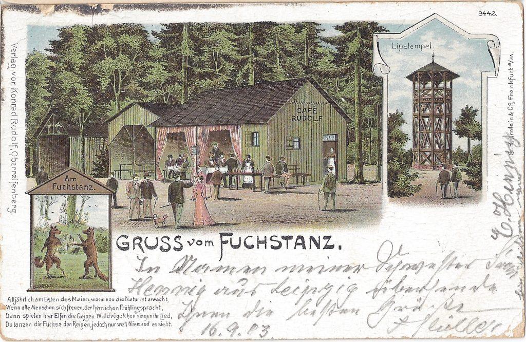 AK Lithografie Fuchstanz