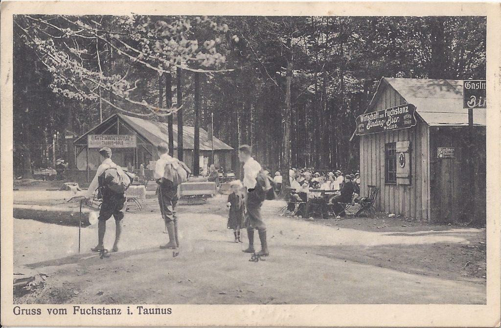 AK Gruss vom Fuchstanz i. Taunus