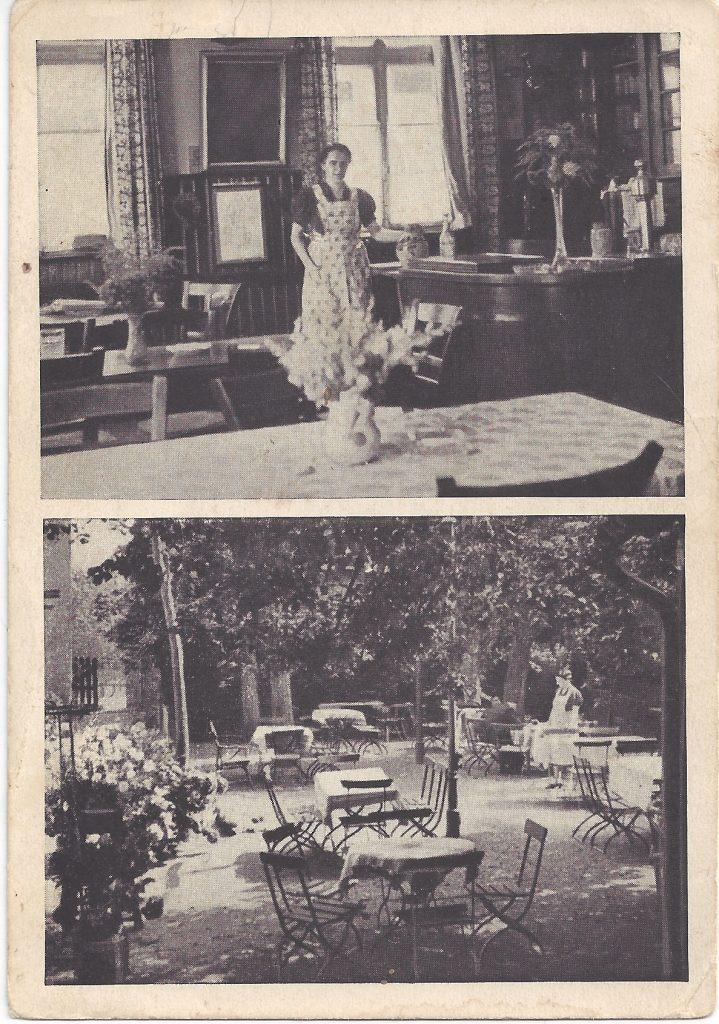 Ansichtskarte Homburger Hof
