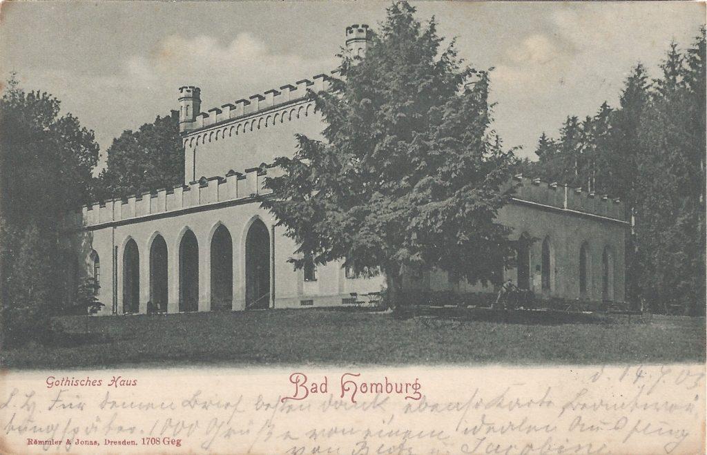 Ansichtskarte Gotisches Haus