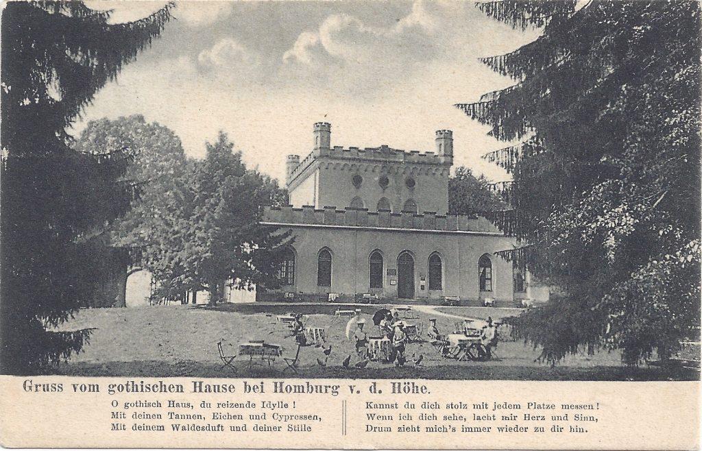 Ansichtskarte Gothisches Haus