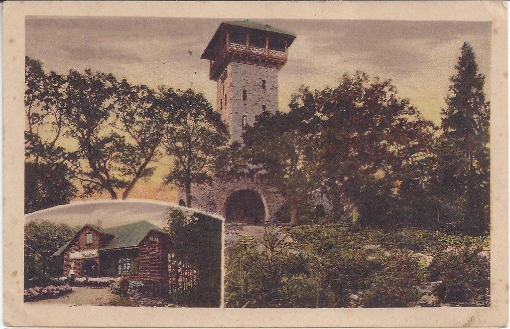 Kolorierte Ansichtskarte vom Herzberg