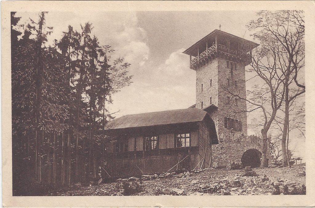 Ansichtskarte Herzbergturm