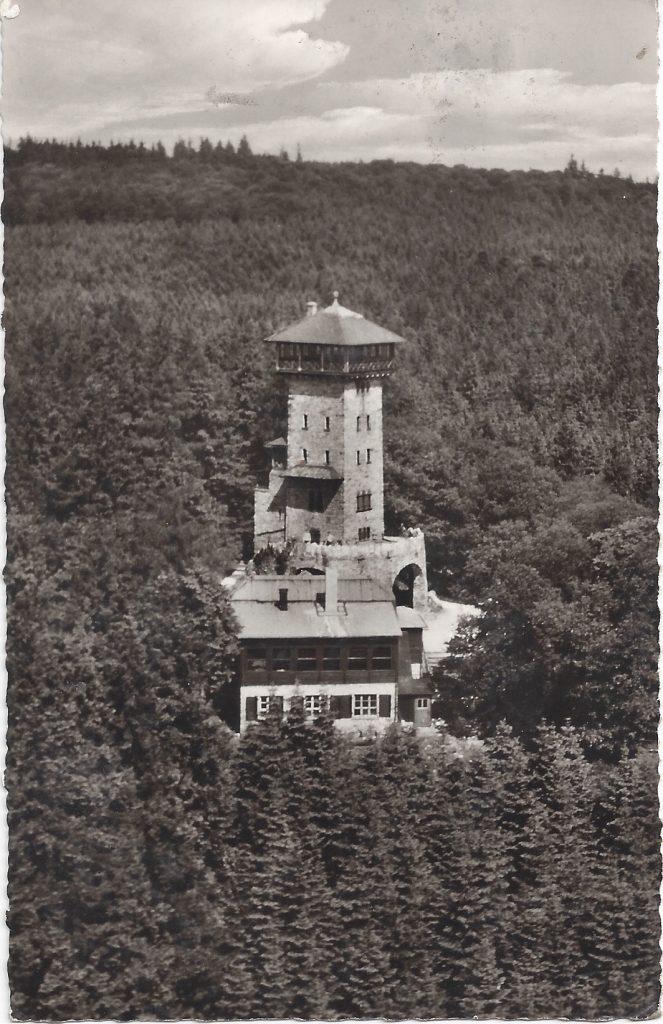 ANsichtskarte Luftbild Herzberg
