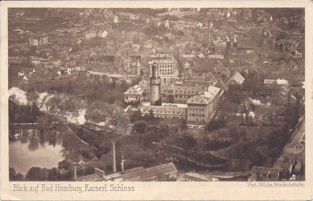 Ansichtskarte Luftbild Bad Homburg