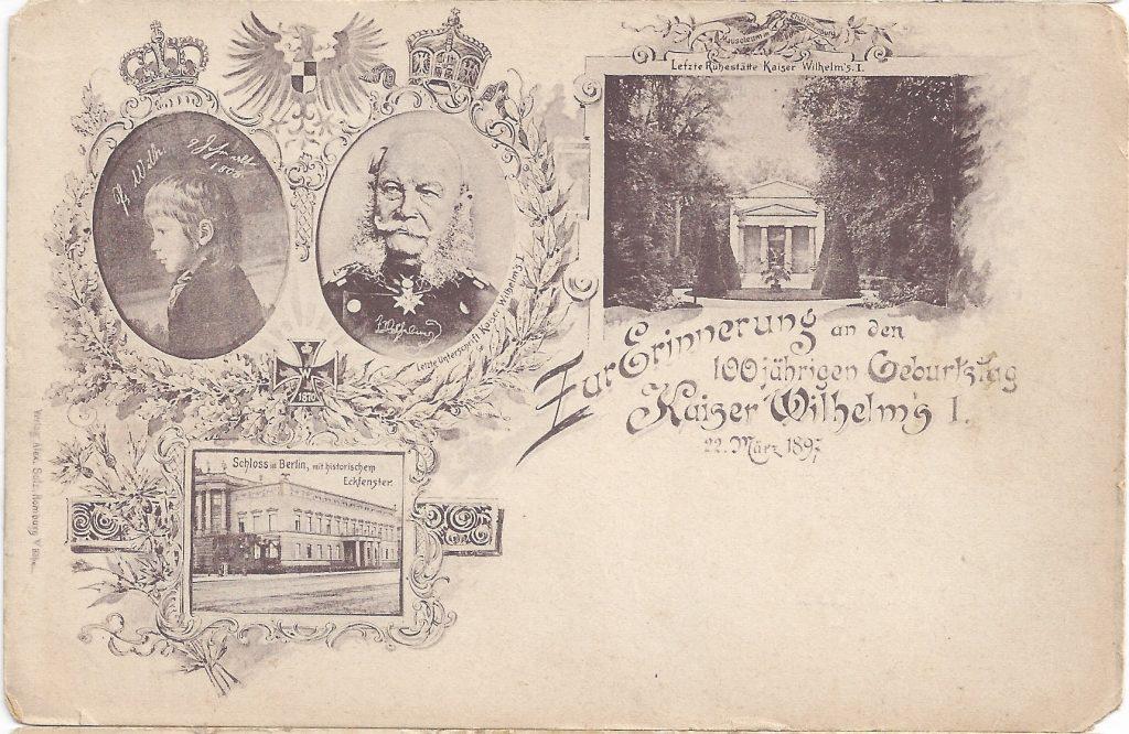 Ansichtskarte Kaiser Wilhelm