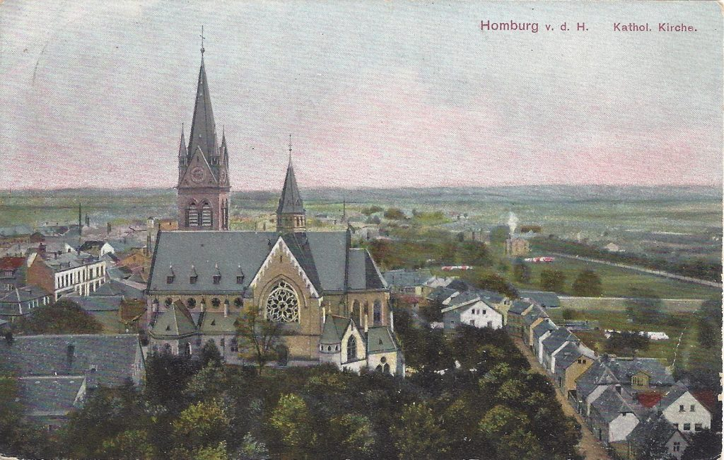 Ansichtskarte Kirche St. Marien