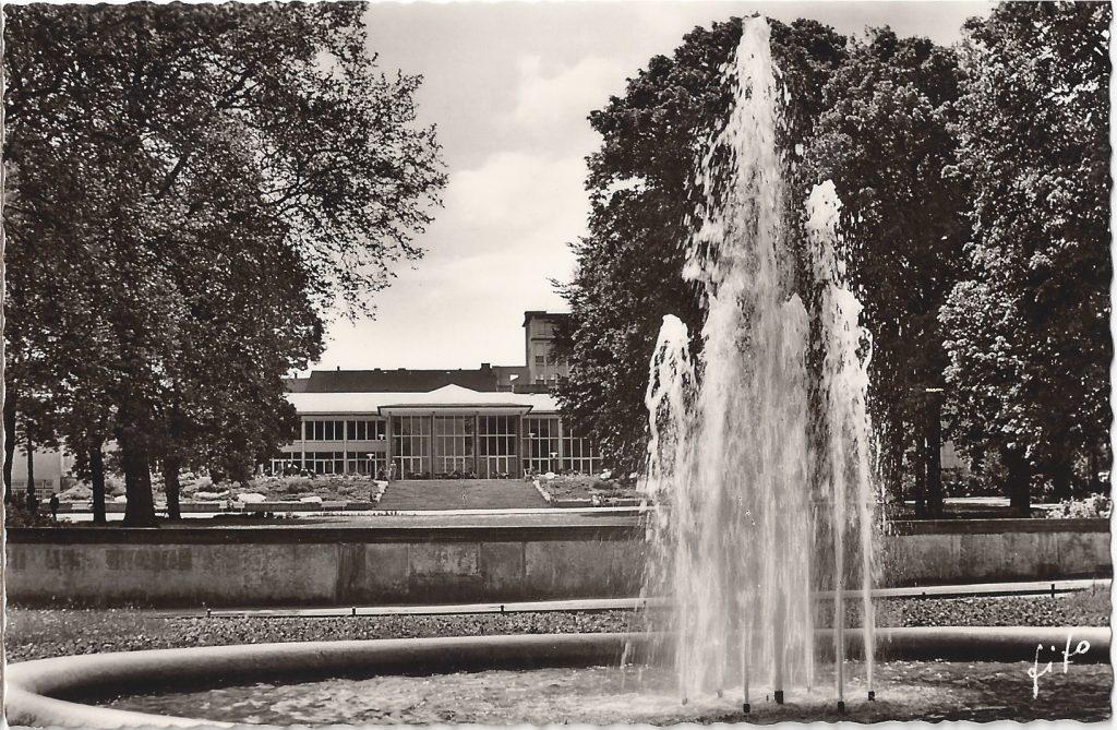 AK Terrasse Kurhaus 60er Jahre