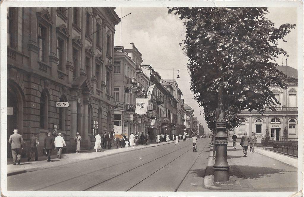 AK Altes Postamt Bad Homburg