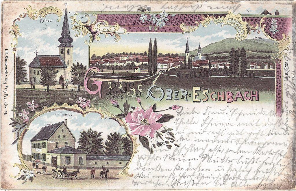 Lithografie von Ober-Eschbach