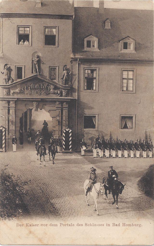 AK Kaiser und Schlossportal