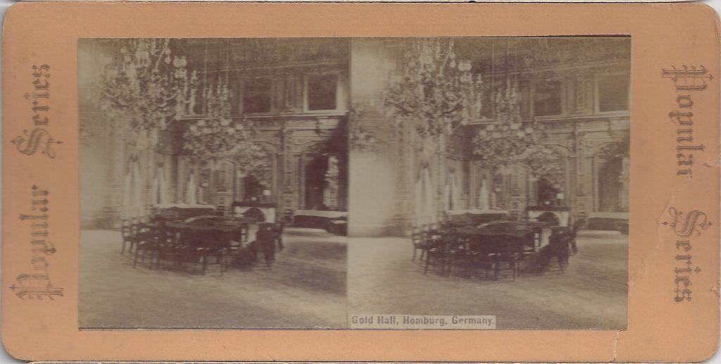 Stereokarte Goldsaal im Kurhaus