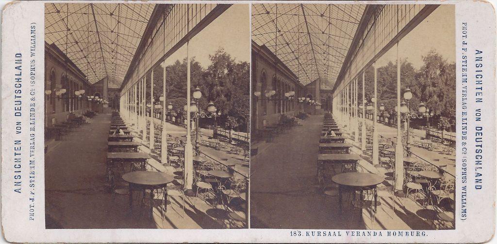 Stereokarte Kursaal Veranda