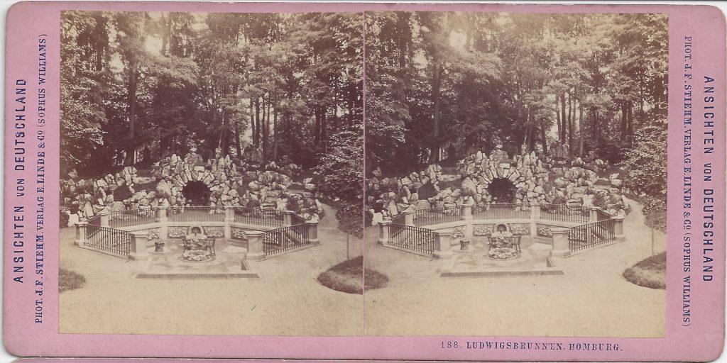 Stereokarte Ludwigsbrunnen